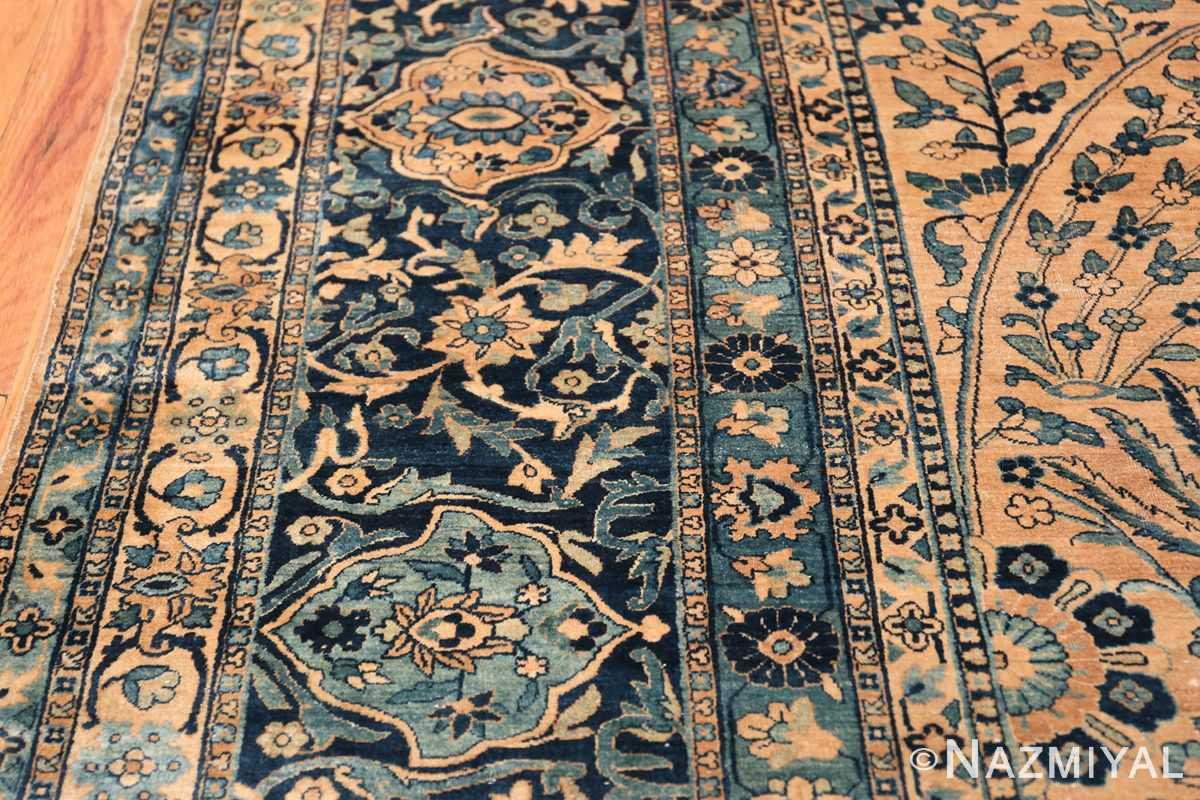 Antique Oversized Persian Kerman Carpet 50113 Border Nazmiyal