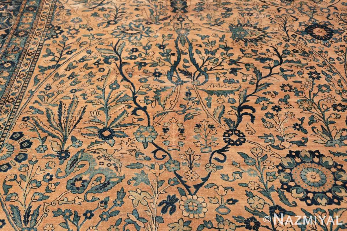 Antique Oversized Persian Kerman Carpet 50113 Branches Nazmiyal