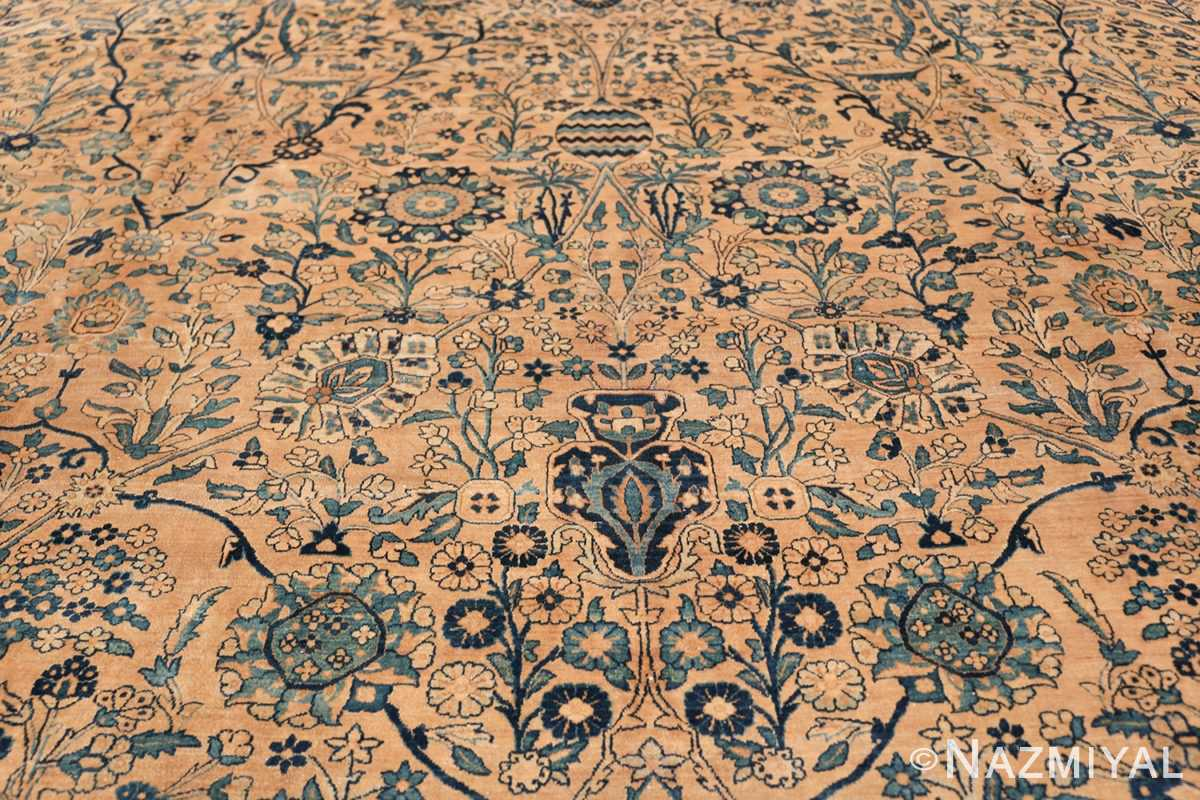 Antique Oversized Persian Kerman Carpet 50113 Middle Part Nazmiyal