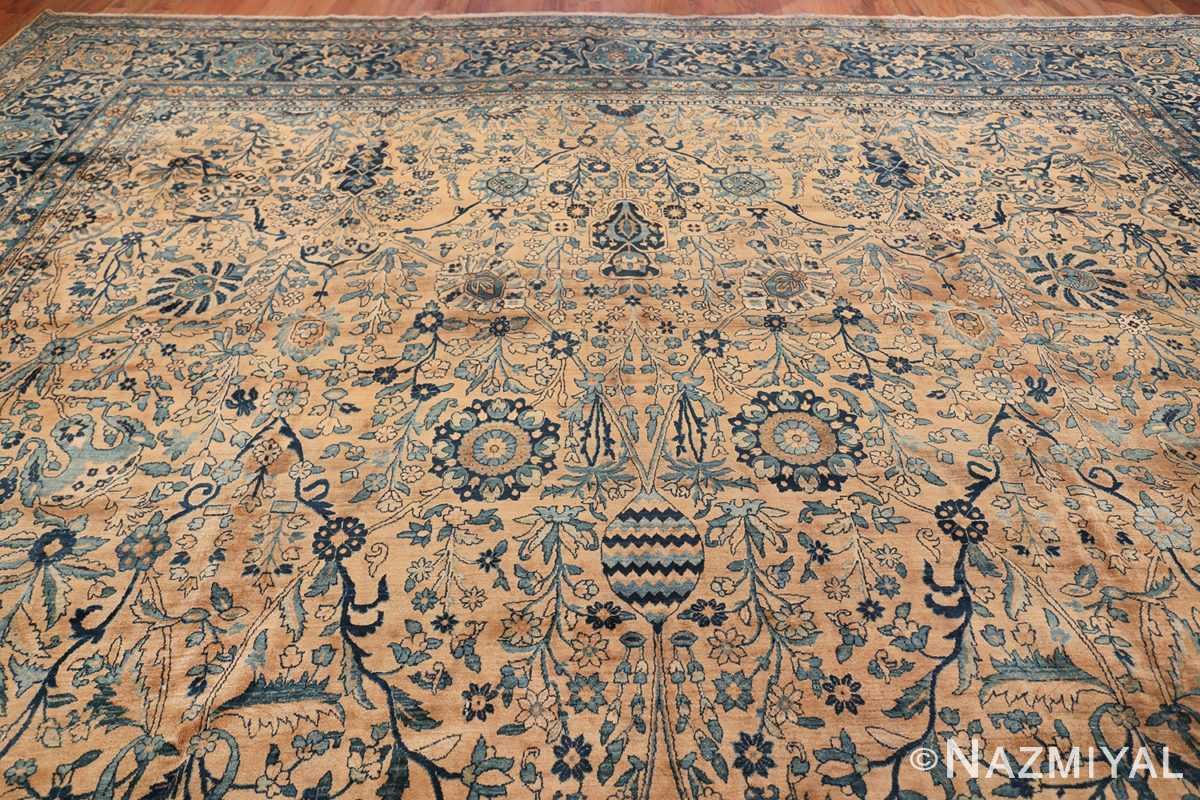 Antique Oversized Persian Kerman Carpet 50113 Top Design Nazmiyal