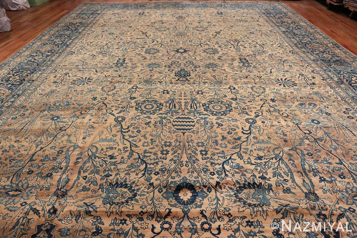 Antique Oversized Persian Kerman Carpet 50113 Whole Design Nazmiyal