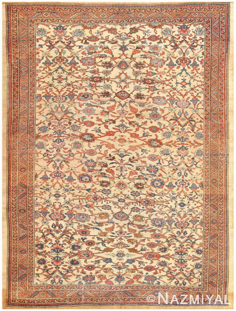 Antique Persian Bakshaish Carpet 50092 Nazmiyal
