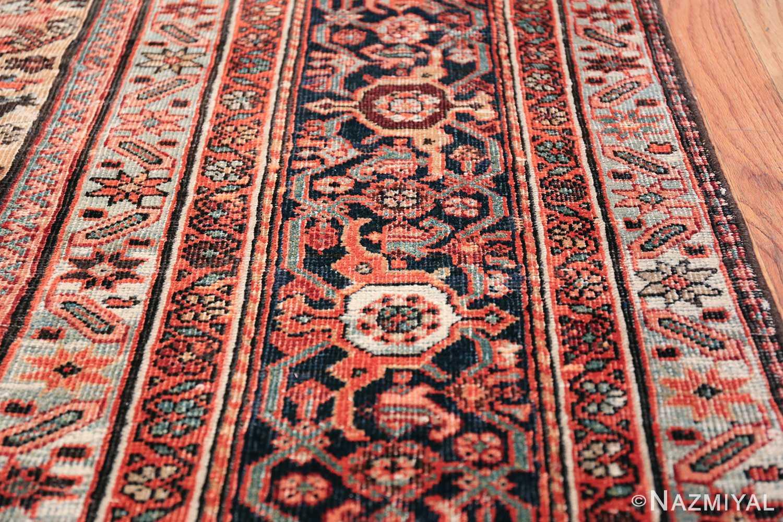 Antique Persian Farahan Carpet 50116 Border Design Nazmiyal