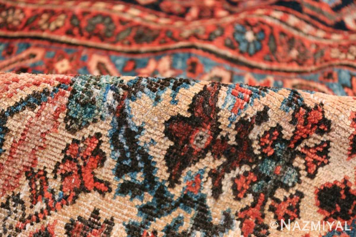 Antique Persian Farahan Carpet 50116 Floral Pile Nazmiyal