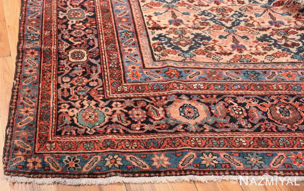 Antique Persian Farahan Carpet 50116 Side Corner Nazmiyal