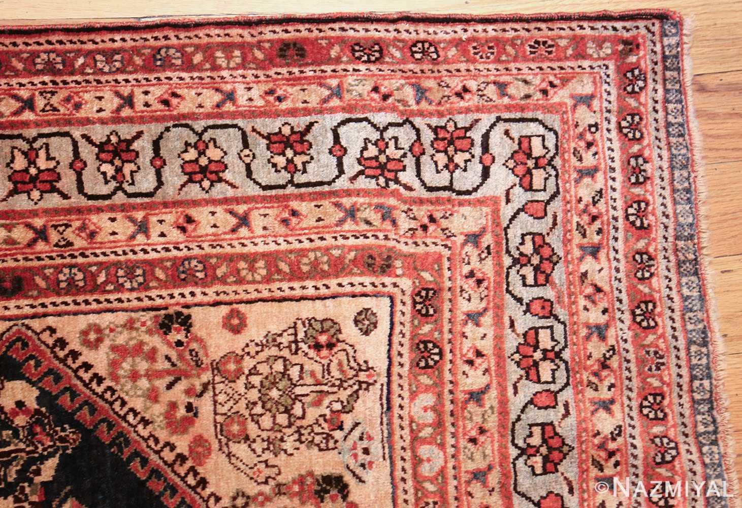 antique persian ghashgai rug 50047 corner Nazmiyal