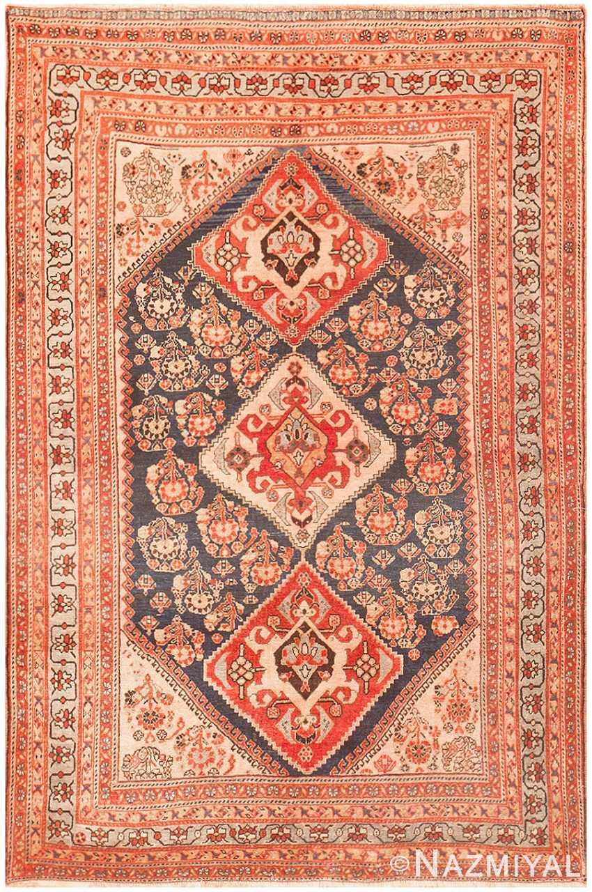 Antique Persian Ghashgai Rug 50047 Detail/Large View