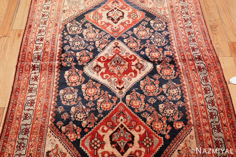 antique persian ghashgai rug 50047 field Nazmiyal