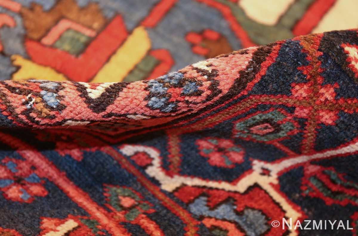 antique persian heriz rug 48468 pile Nazmiyal