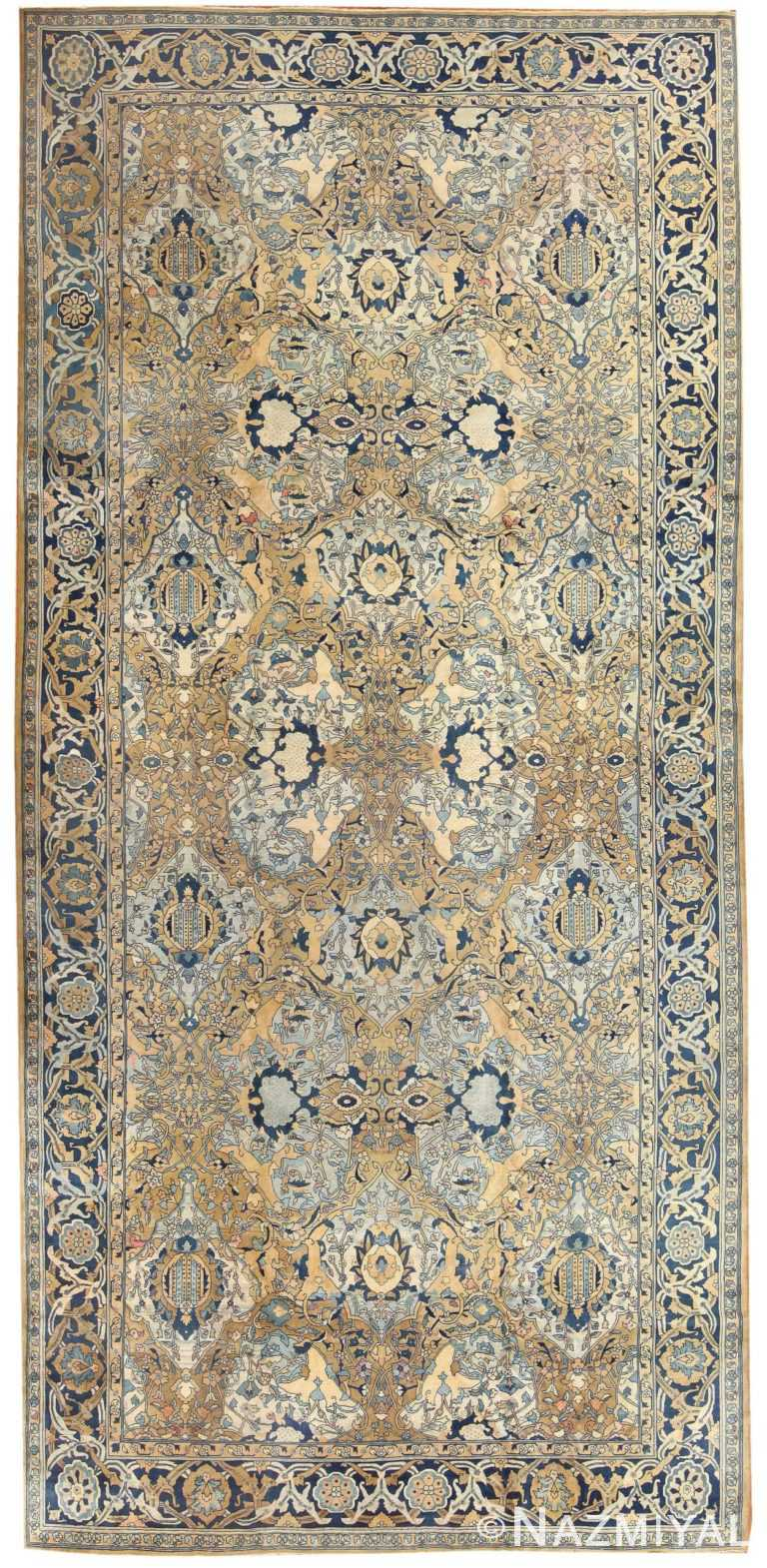 Antique Persian Kerman Carpet 50099 Detail/Large View