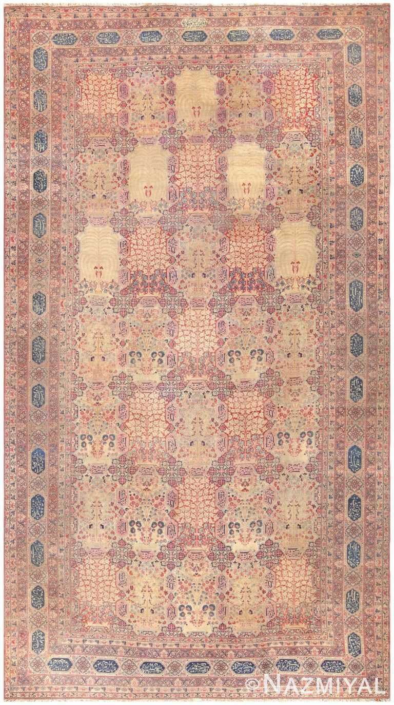 Antique Persian Kerman Carpet 50112 Nazmiyal