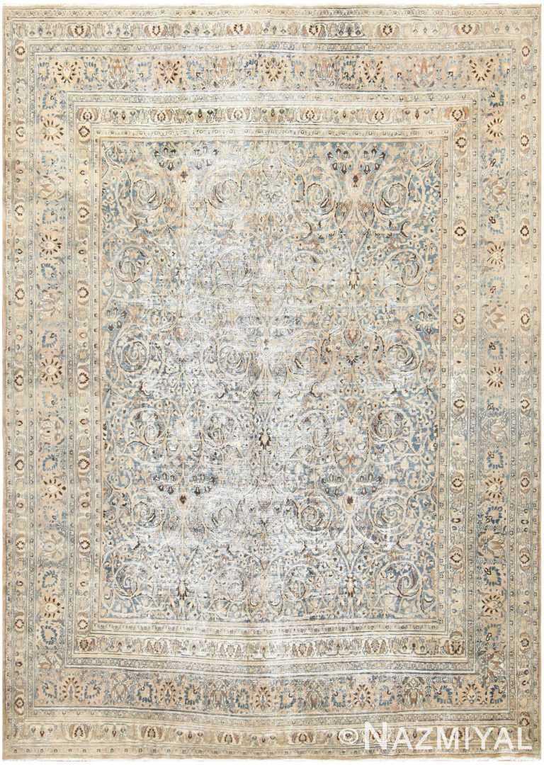 Antique Persian Khorassan Carpet 48404 Detail/Large View