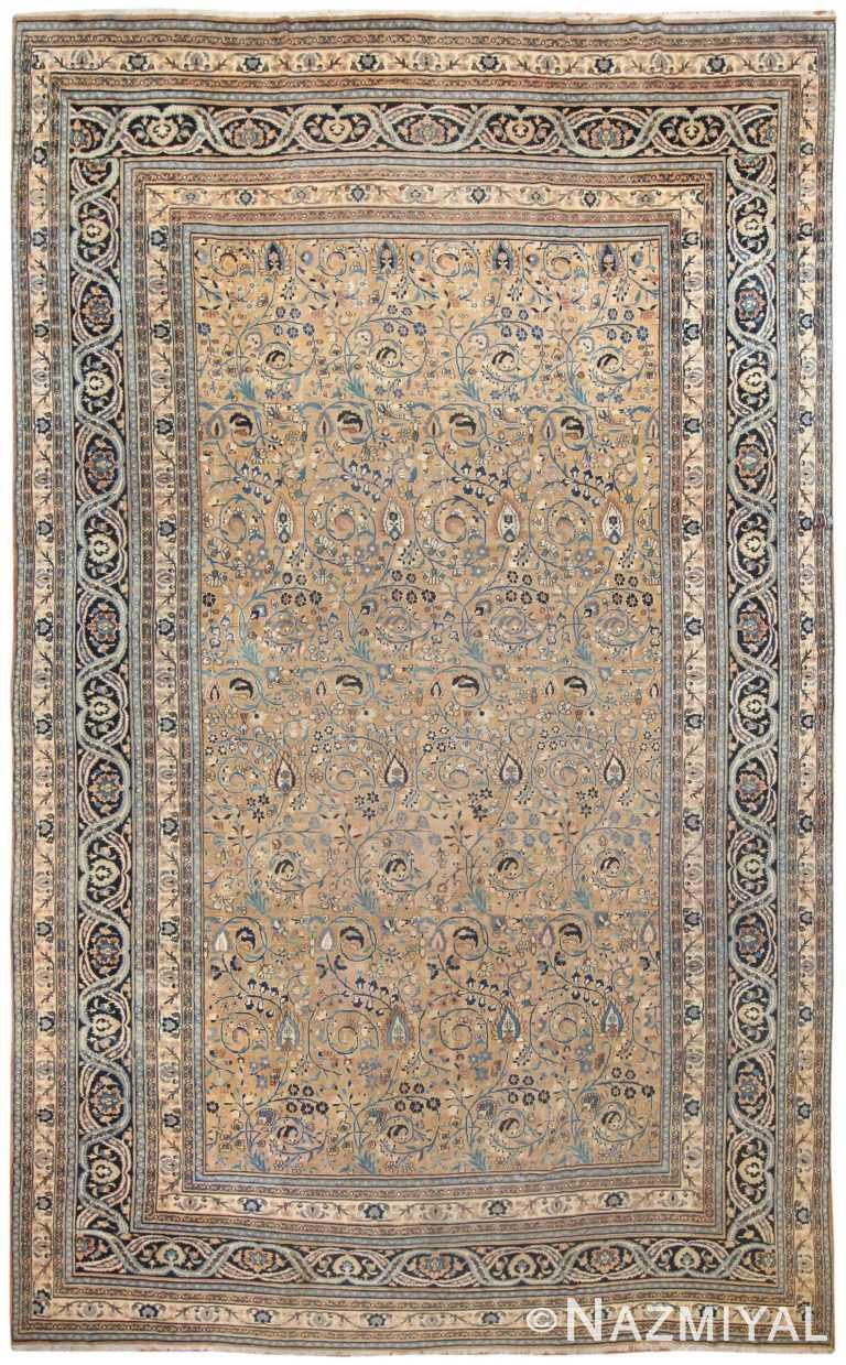 Antique Persian Khorassan Carpet 50066 Nazmiyal