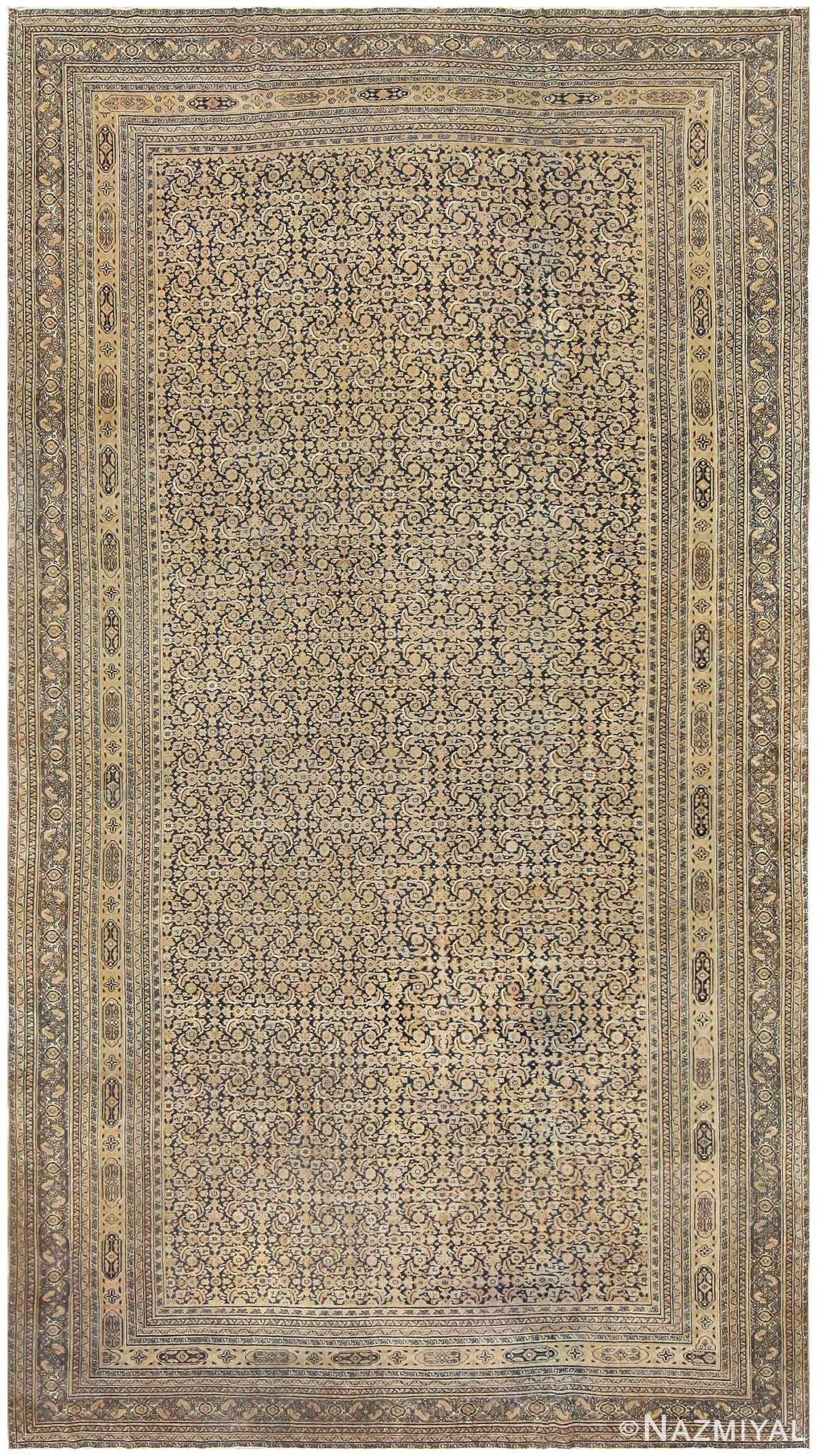 Antique Persian Khorassan Carpet 50091 Detail/Large View