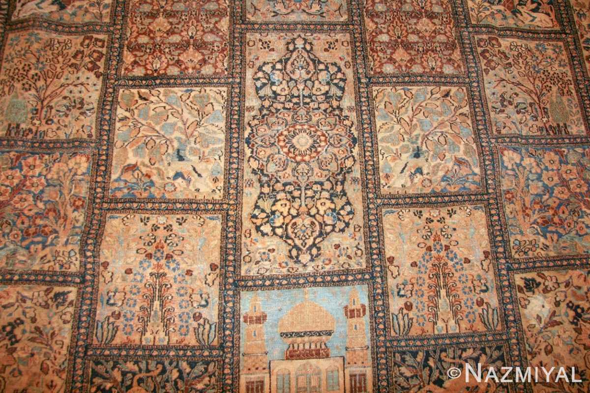 antique persian khorassan carpet 50134 design Nazmiyal