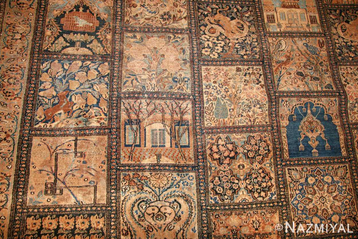 antique persian khorassan carpet 50134 field Nazmiyal