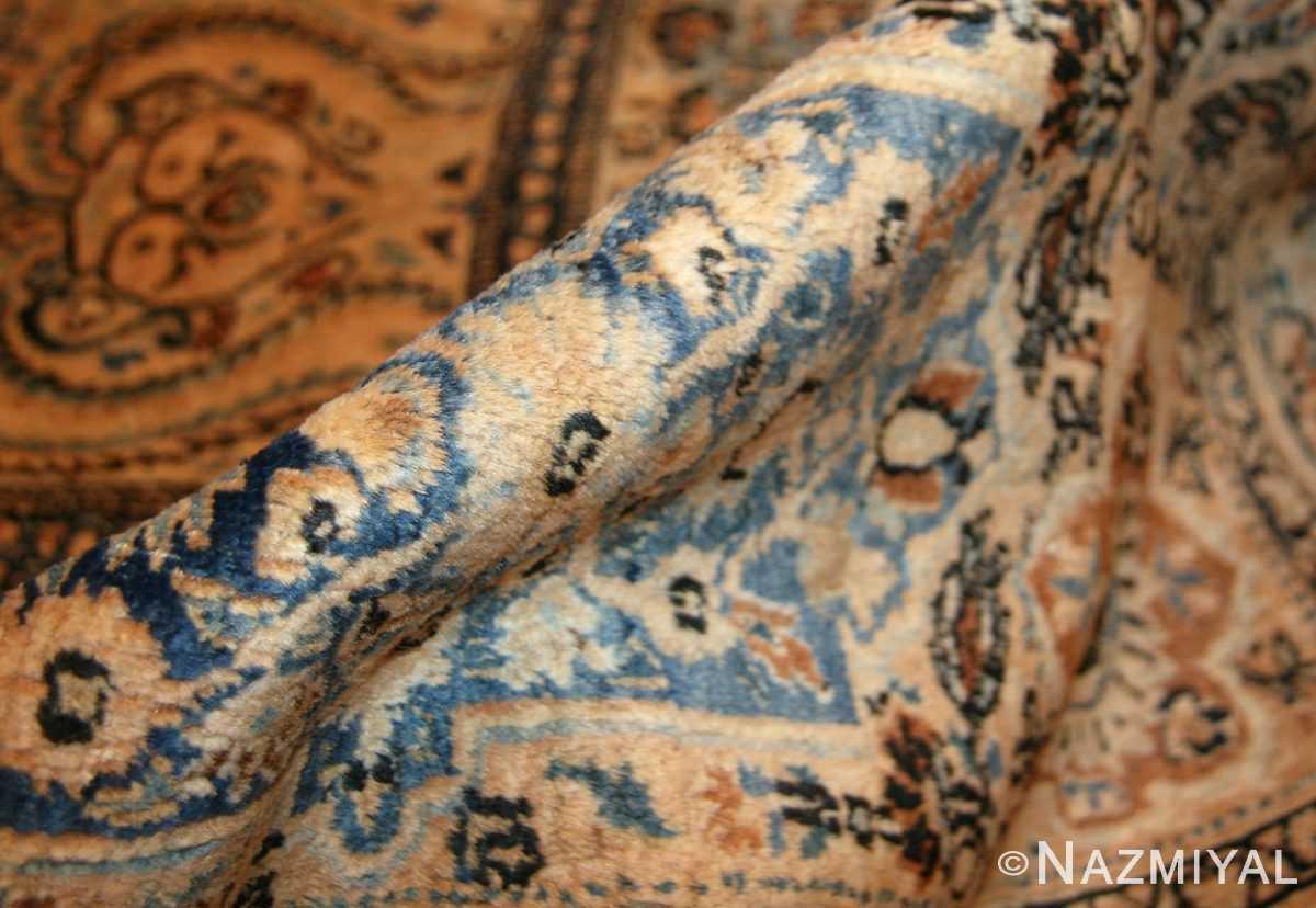 antique persian khorassan carpet 50134 pile Nazmiyal