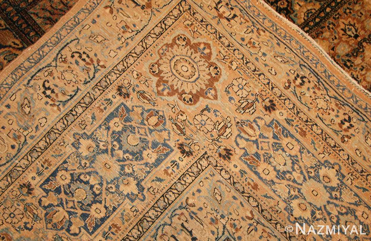 antique persian khorassan carpet 50134 weave Nazmiyal