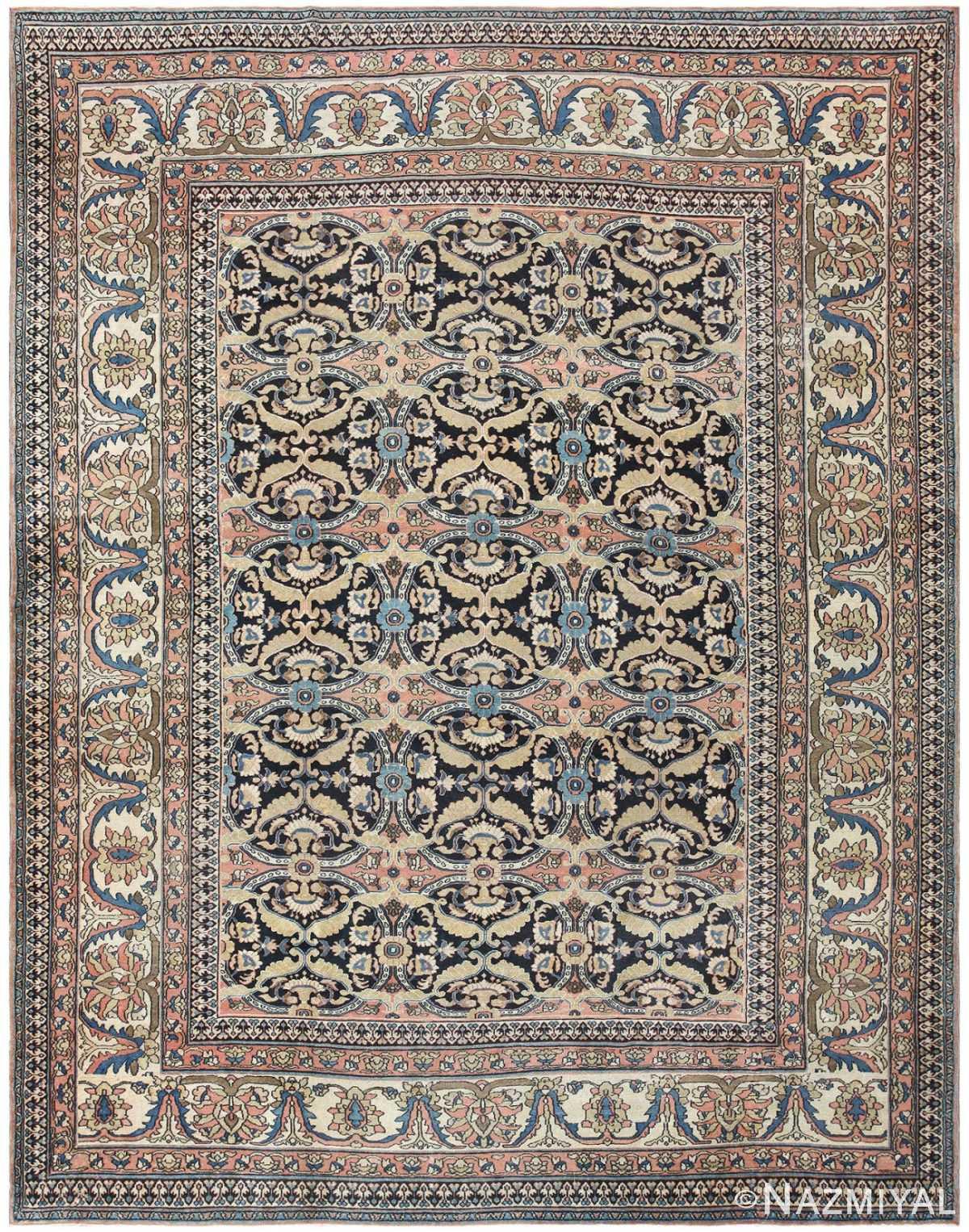 Antique Persian Khorassan Rug 50151 Detail/Large View