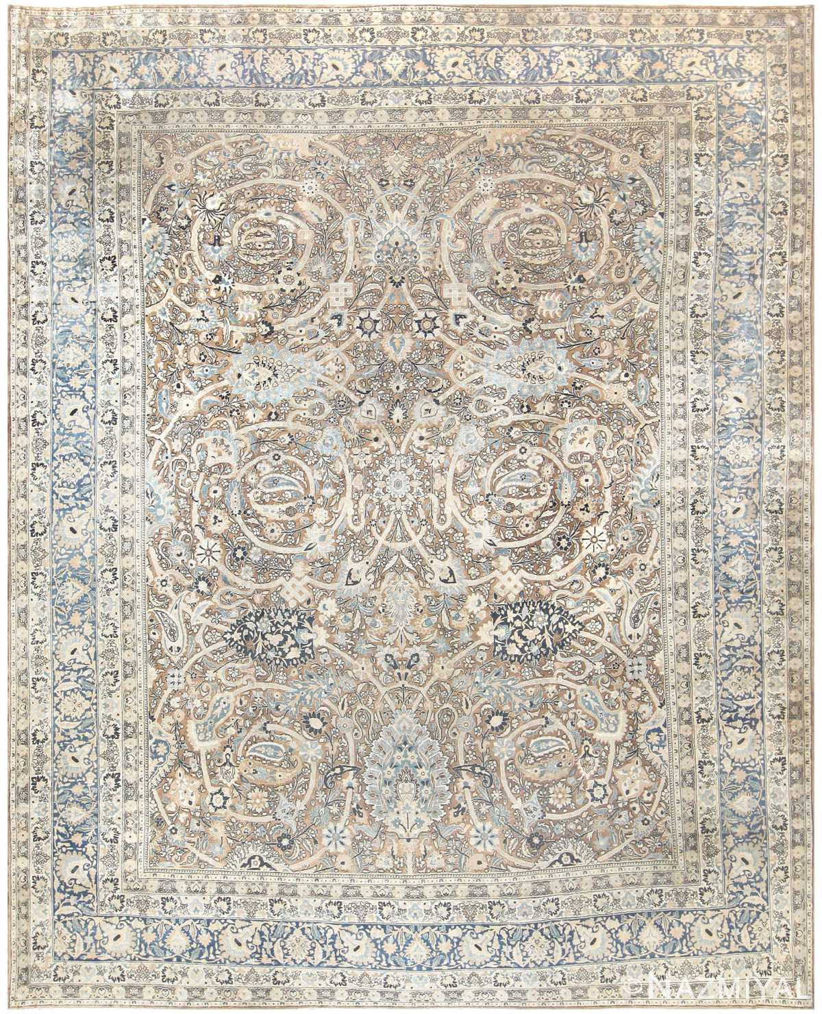 Vintage Persian Rugs: Antique Persian Khorassan Rug 50169 By Nazmiyal Collection
