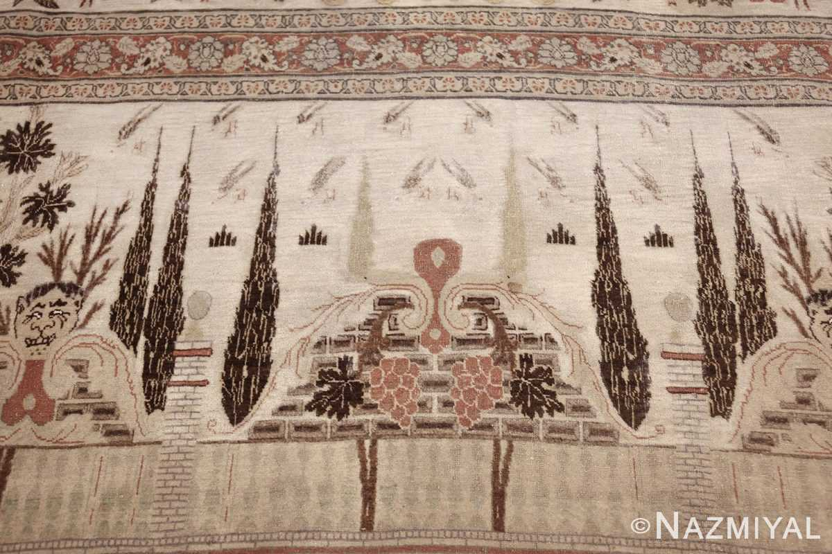 antique persian palace scene tabriz rug 50074 top Nazmiyal