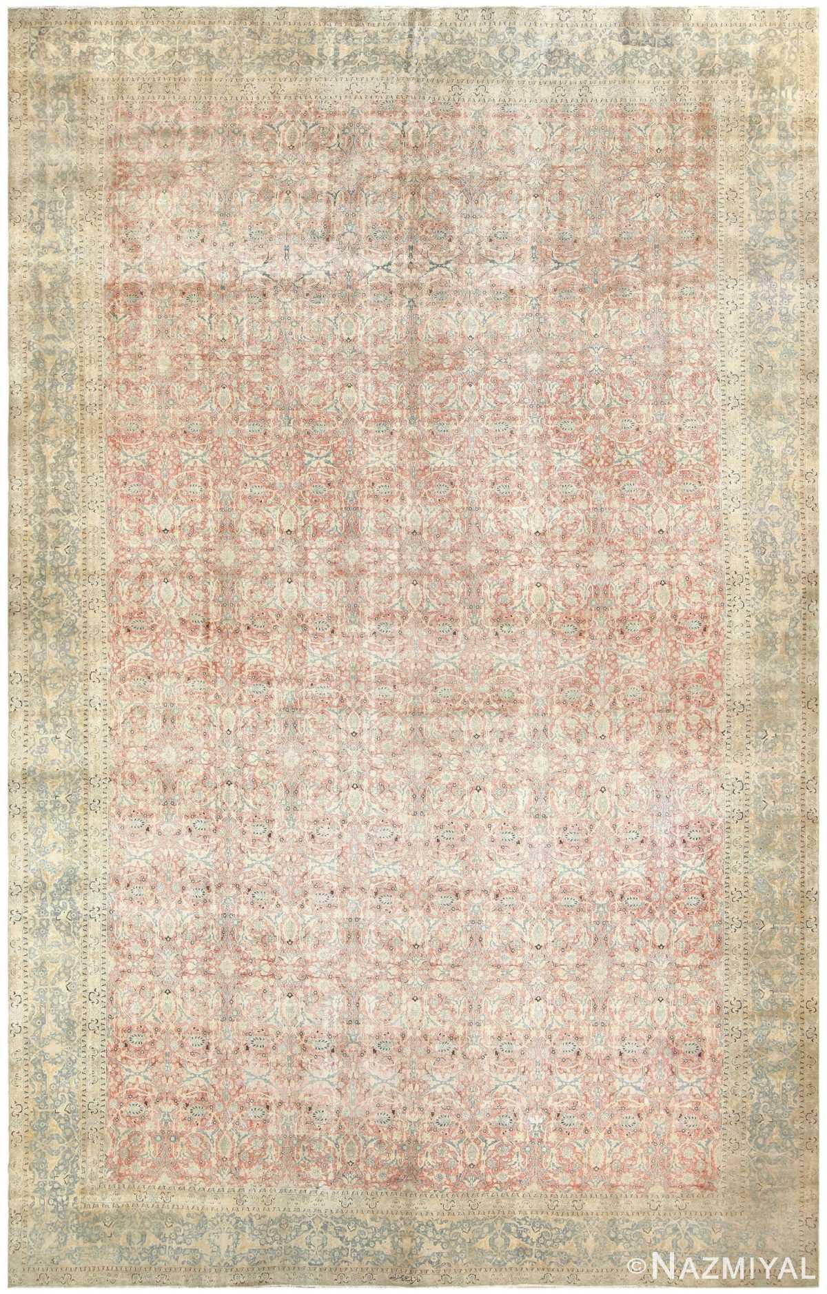 Antique Persian Tabriz Carpet 50118 Nazmiyal