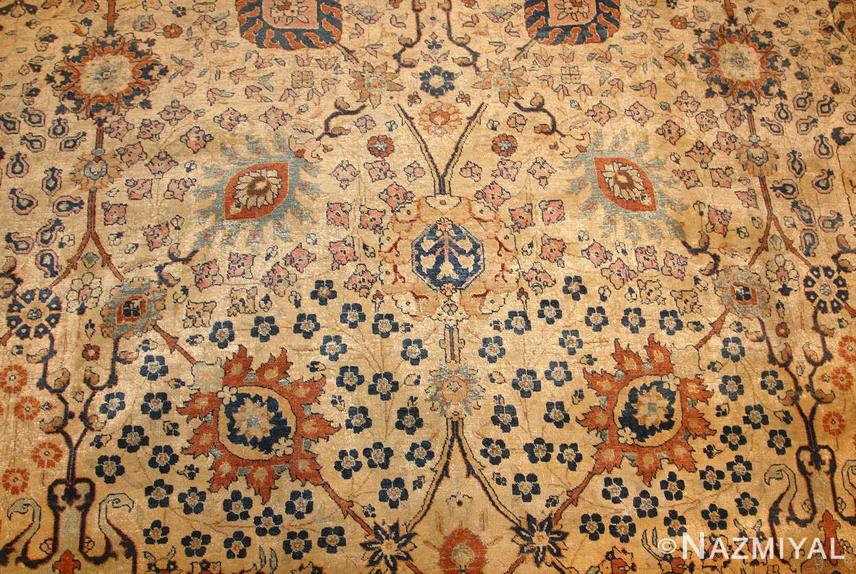 antique persian tabriz rug 50176 field Nazmiyal