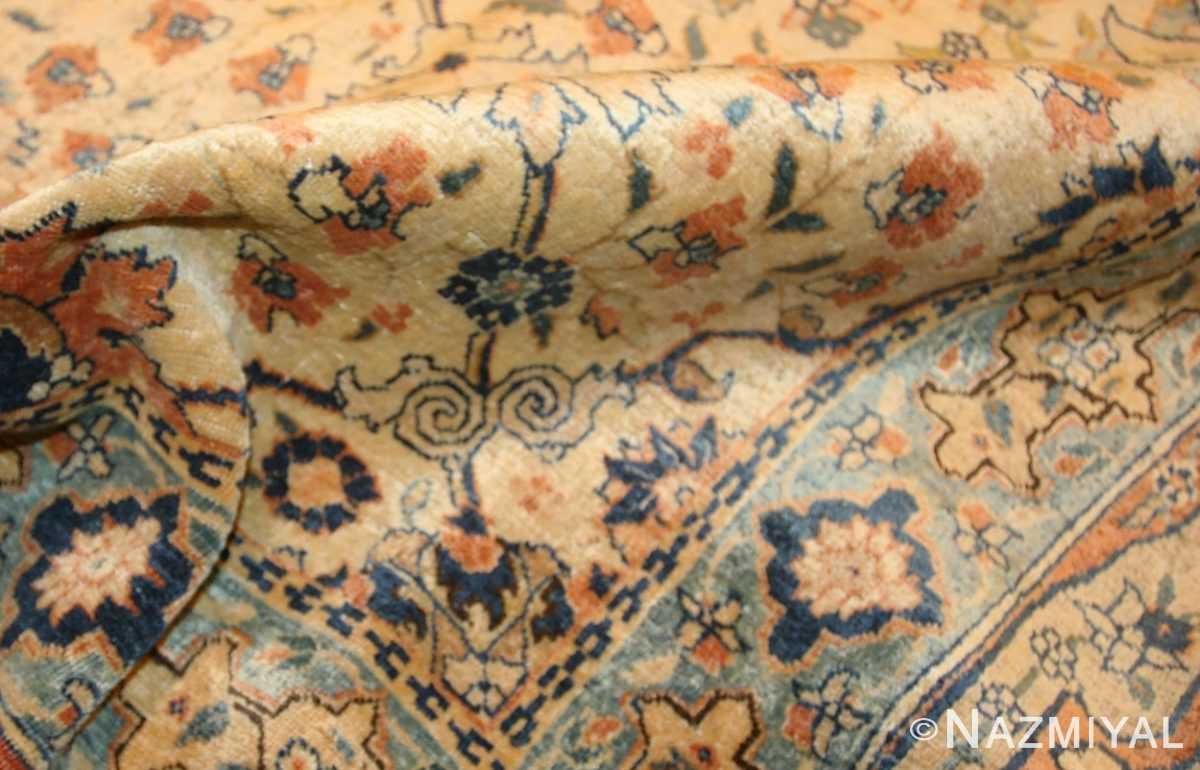 antique persian tabriz rug 50176 pile Nazmiyal