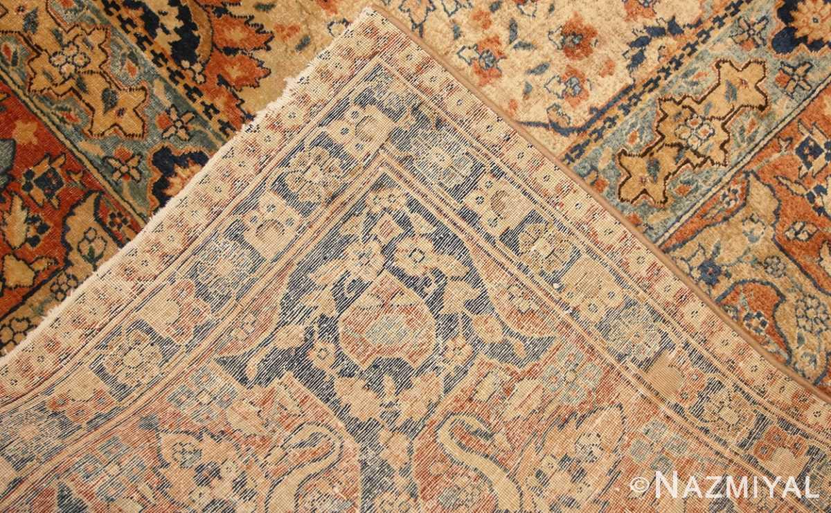 antique persian tabriz rug 50176 weave Nazmiyal
