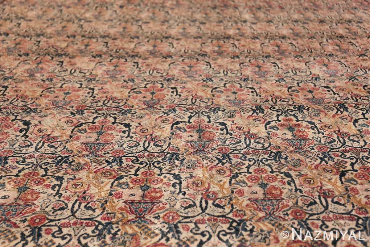 Antique Persian Tehran Carpet 50098 Field design Nazmiyal