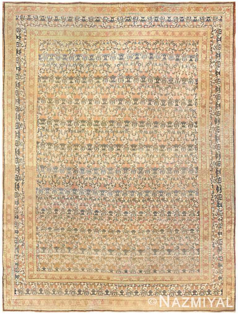 Antique Persian Tehran Carpet 50189 Nazmiyal