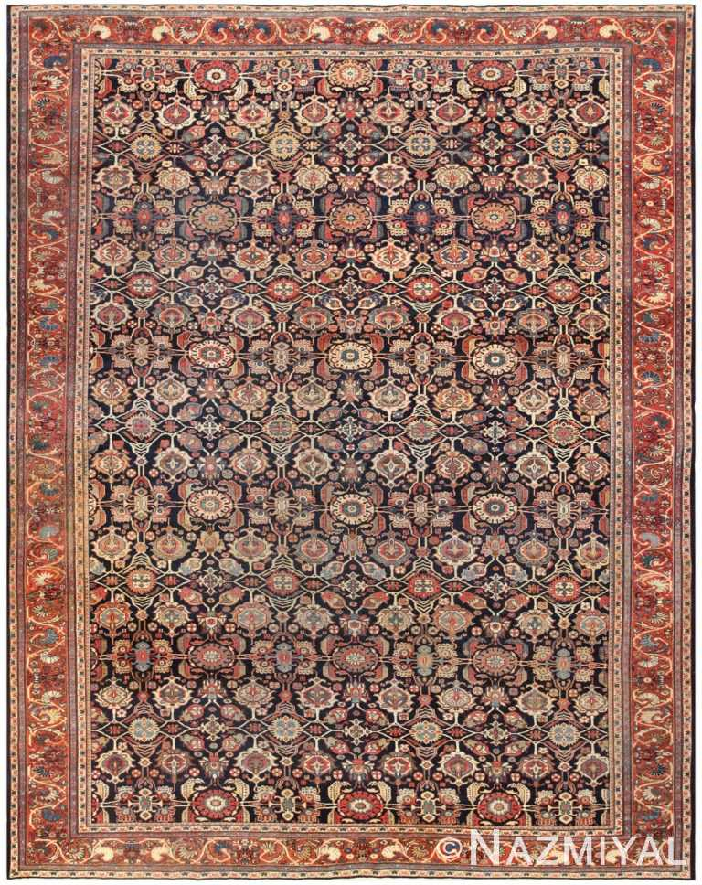Antique Room Sized Persian Farahan Carpet 50149 Nazmiyal