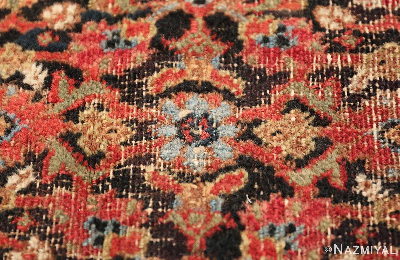 antique shabby chic persian khorassan carpet 50017 blue Nazmiyal
