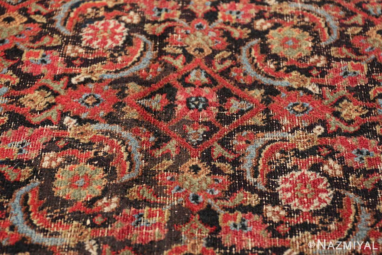 antique shabby chic persian khorassan carpet 50017 design Nazmiyal