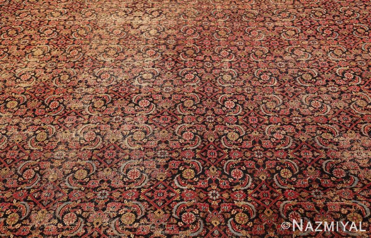 antique shabby chic persian khorassan carpet 50017 field Nazmiyal