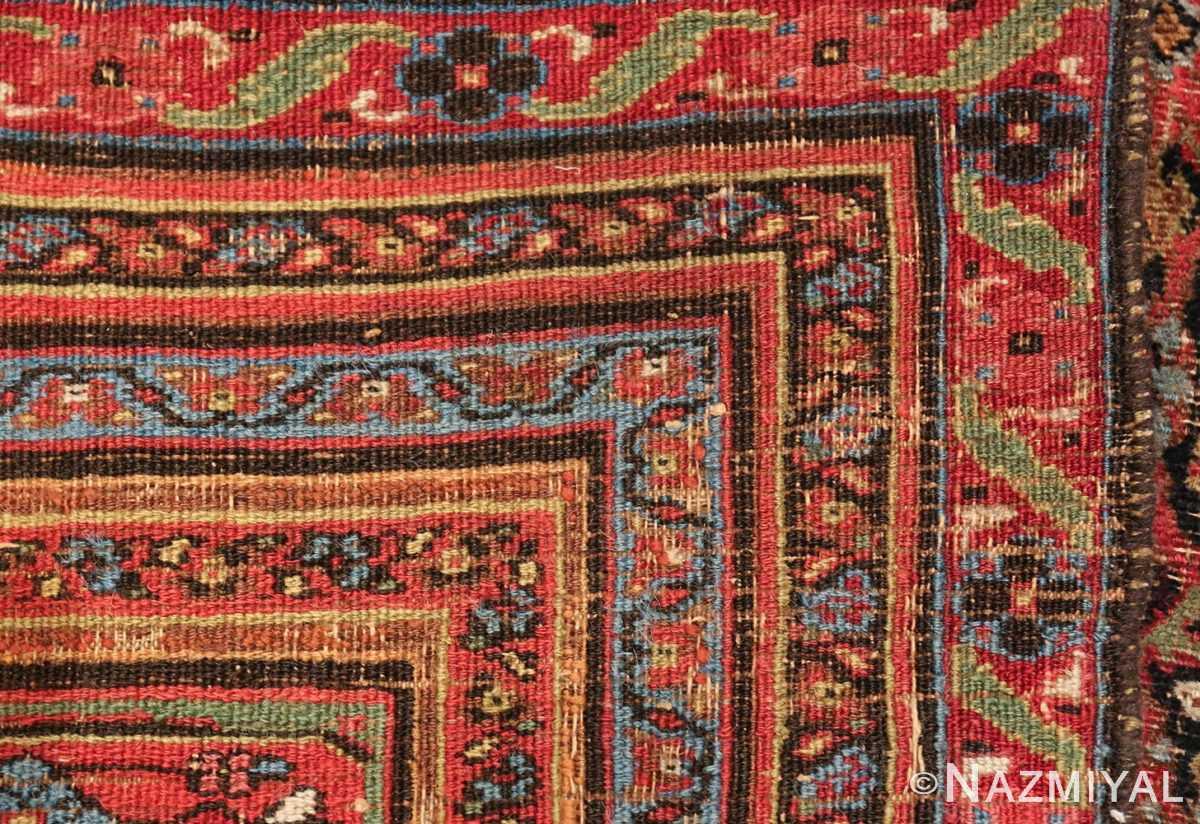 antique shabby chic persian khorassan carpet 50017 knots Nazmiyal