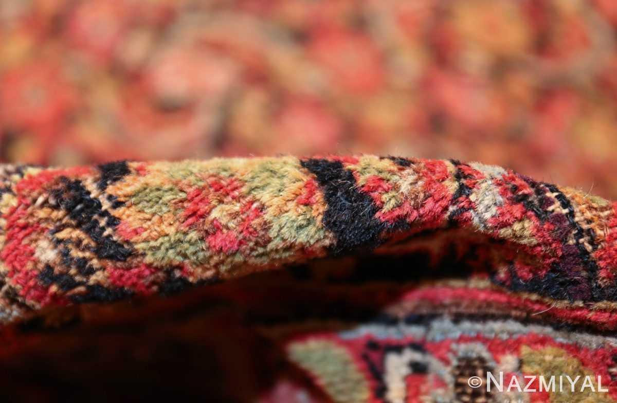 antique shabby chic persian khorassan carpet 50017 pile Nazmiyal