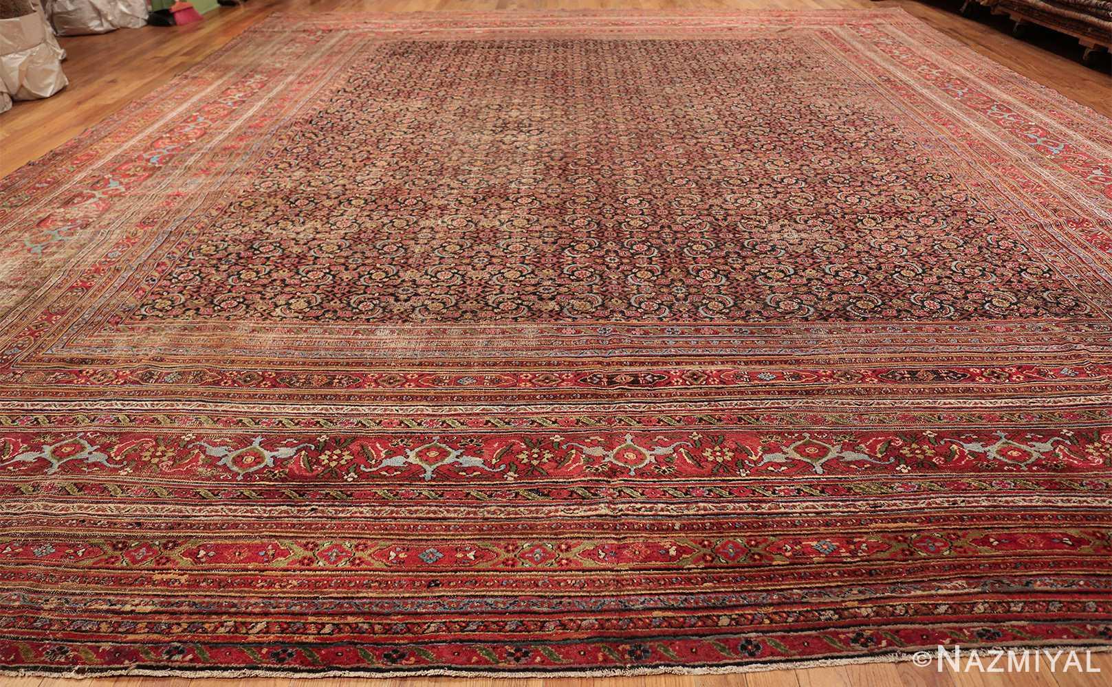 antique shabby chic persian khorassan carpet 50017 whole Nazmiyal
