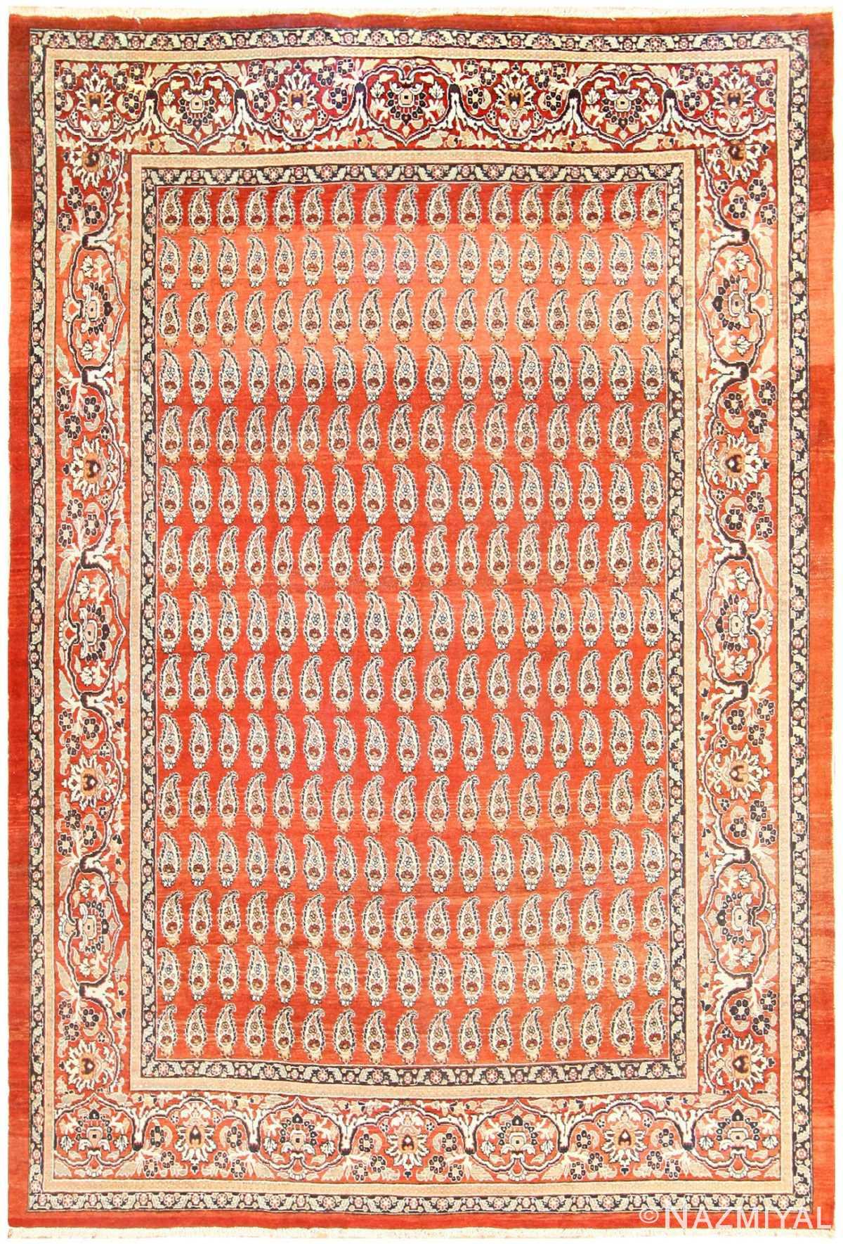 Antique Tabriz Persian Carpet 50219 Nazmiyal