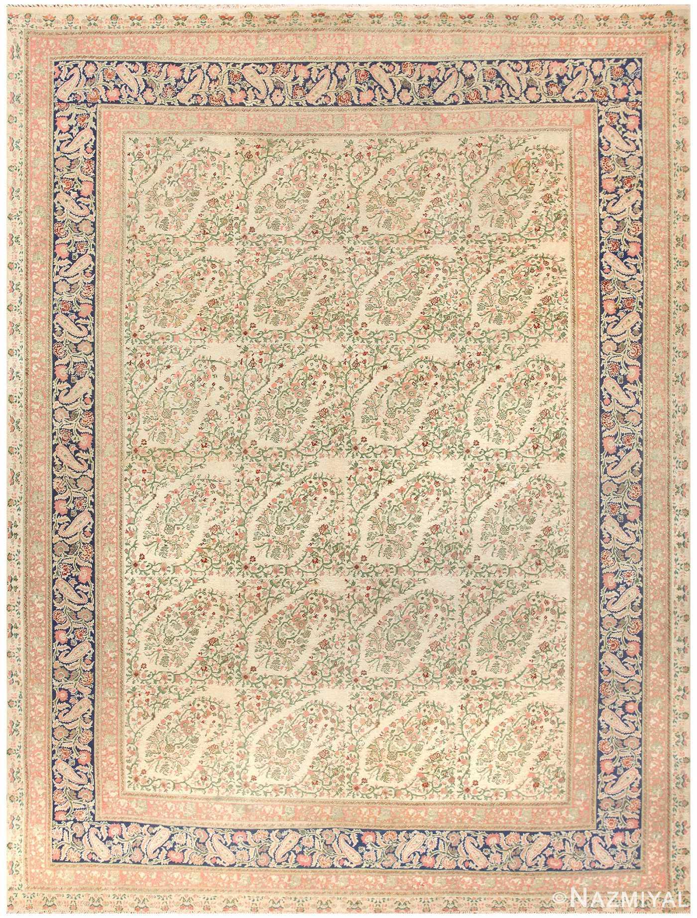Antique Turkish Hereke Rug 50183 Detail/Large View