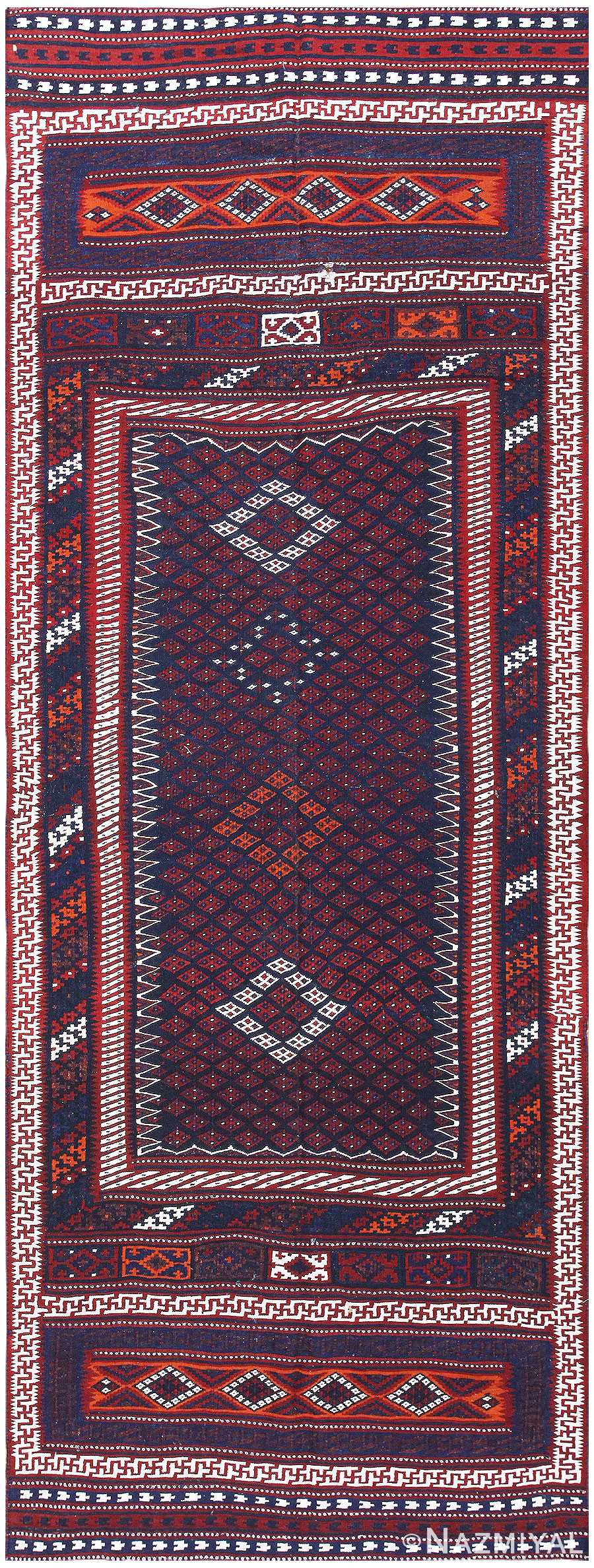 Antique Turkish Kilim 50168 Detail/Large View