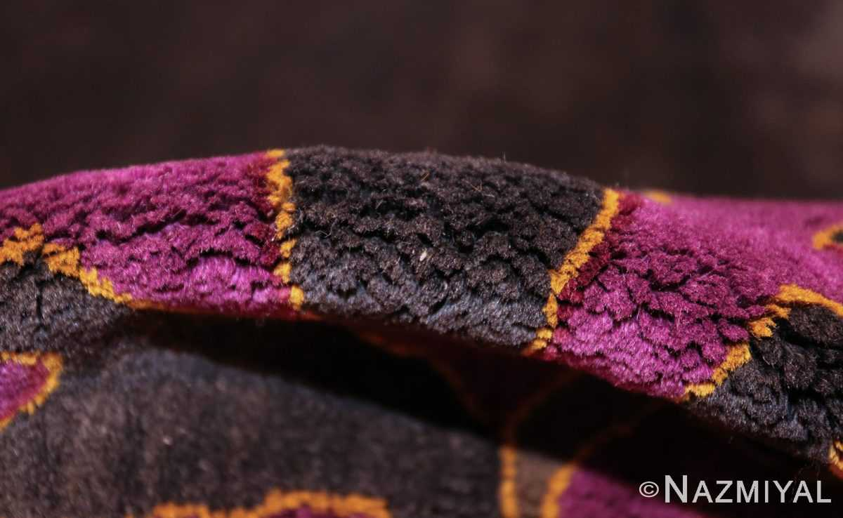 art deco chinese rug with dragon border 50101 pile Nazmiyal