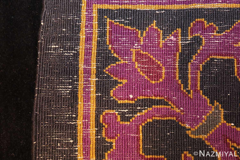 art deco chinese rug with dragon border 50101 weave Nazmiyal
