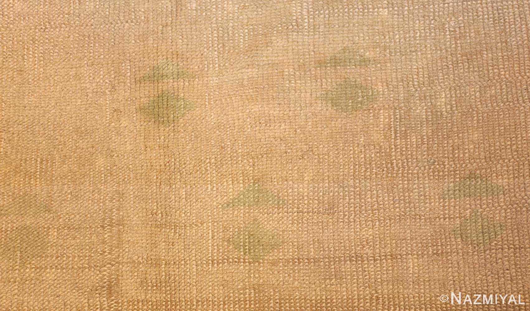 art deco turkish oushak rug 50082 design Nazmiyal