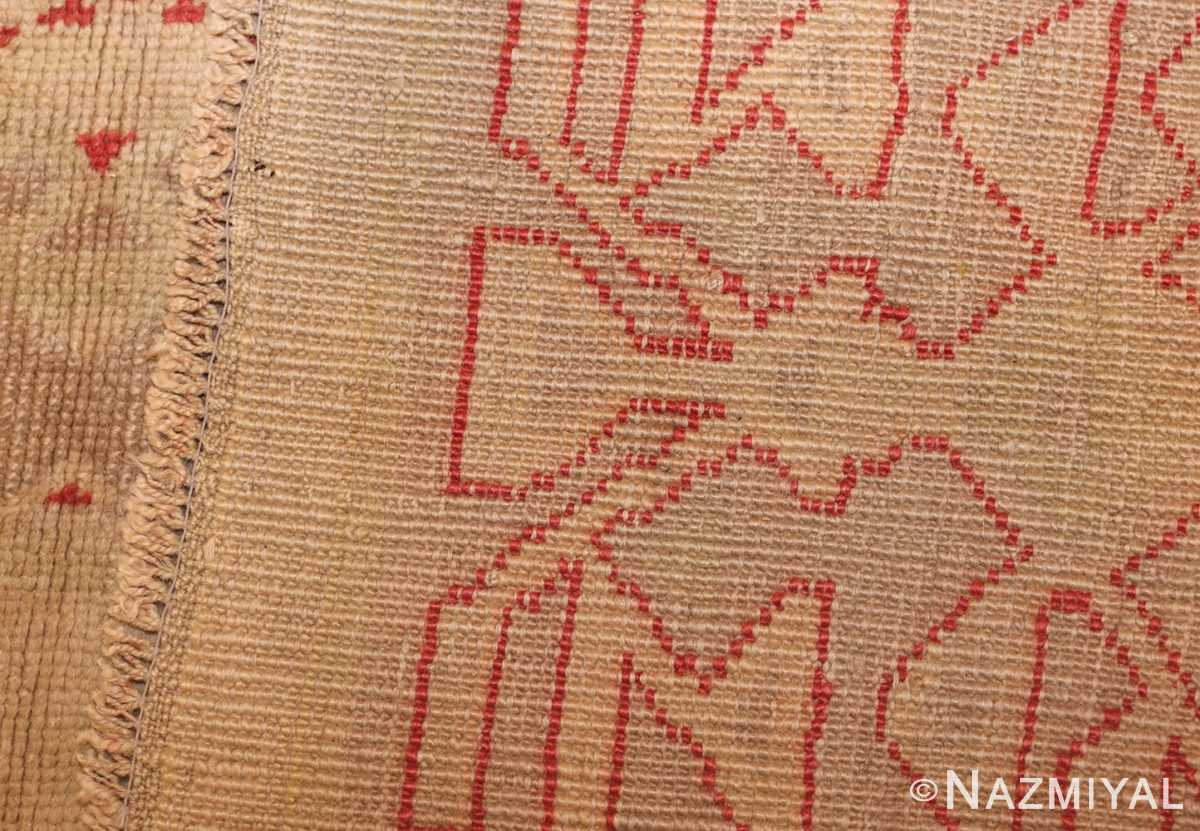 art deco turkish oushak rug 50082 weave Nazmiyal