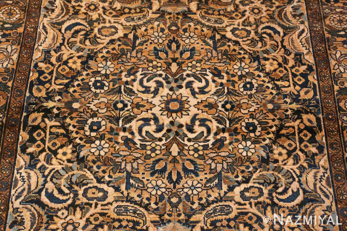 Background Antique Malayer Persian carpet 50212 by Nazmiyal