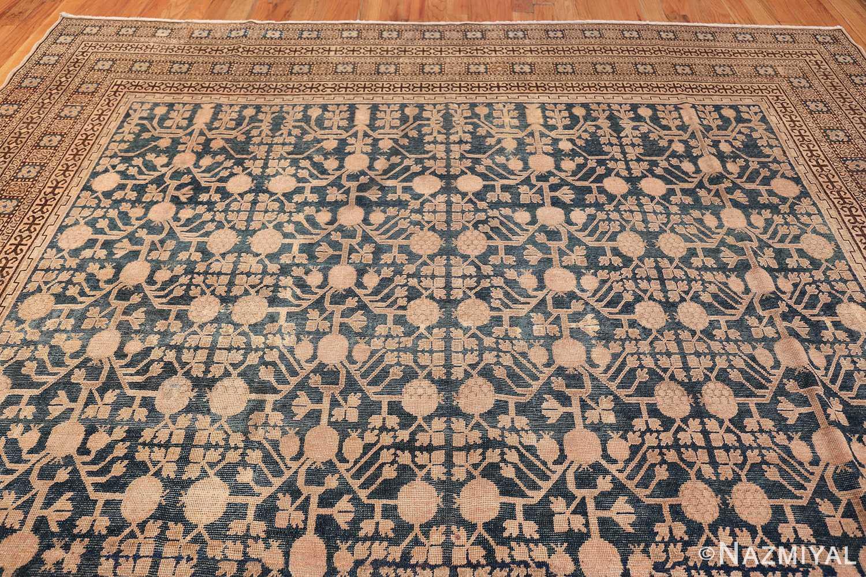 Blue Pomegranate Design Room Size Antique Khotan Rug 50094 Top Design Nazmiyal
