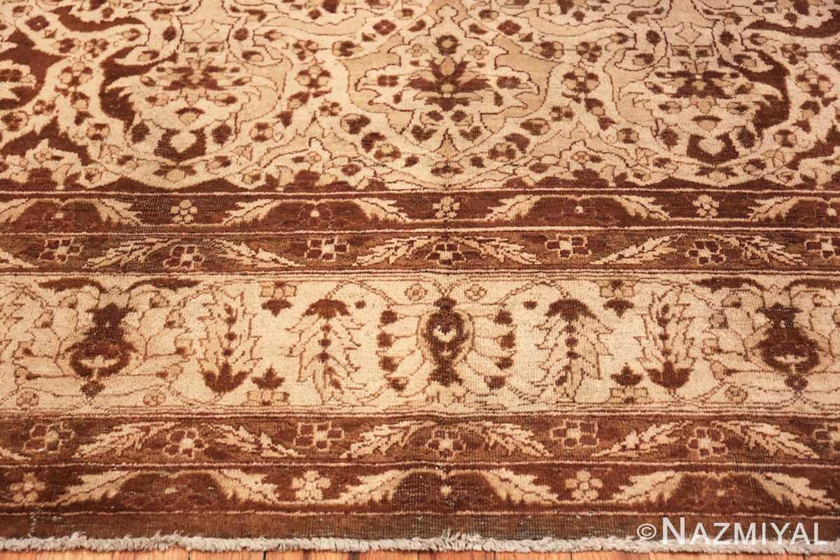 Border Vintage Purple Moroccan rug 45984 by Nazmiyal