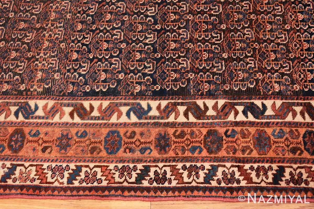 Border Antique Persian Afshar rug 50186 by Nazmiyal