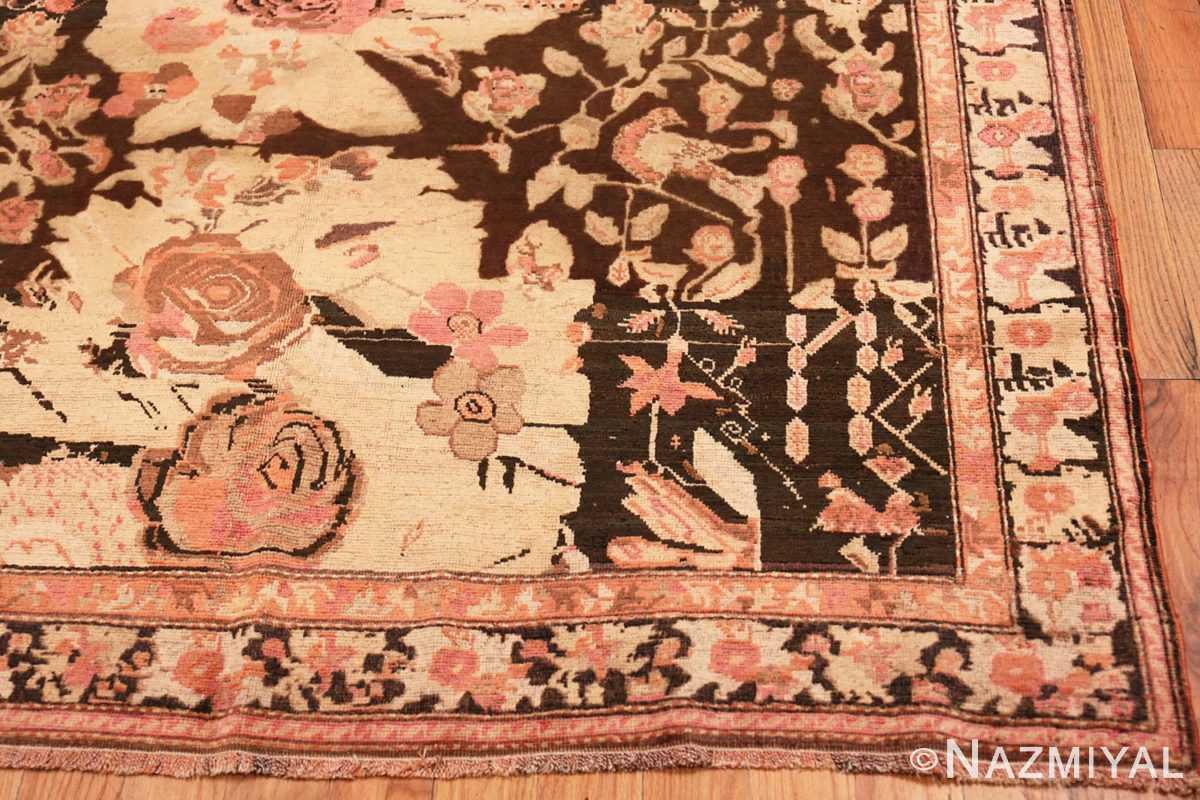 Corner Antique Caucasian Karabagh runner rug 50028 by Nazmiyal